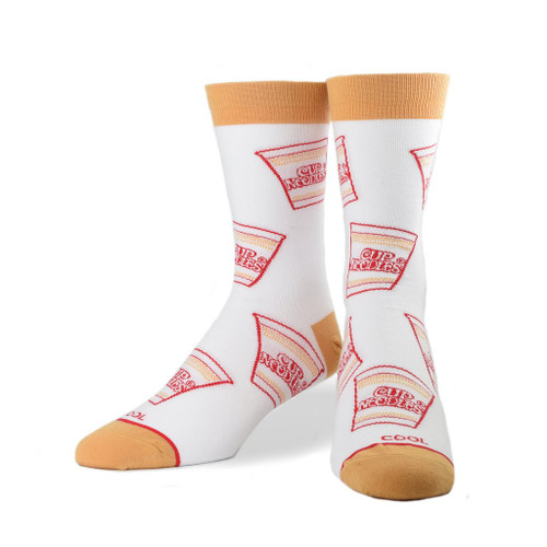 Cup Noodles All Over Crew Socks