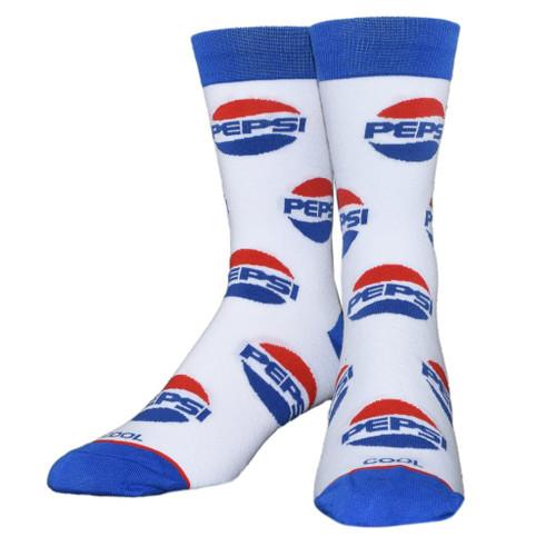Pepsi All Over Crew Socks