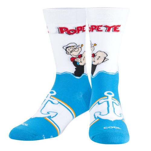 Popeye The Sailor Man Crew Socks