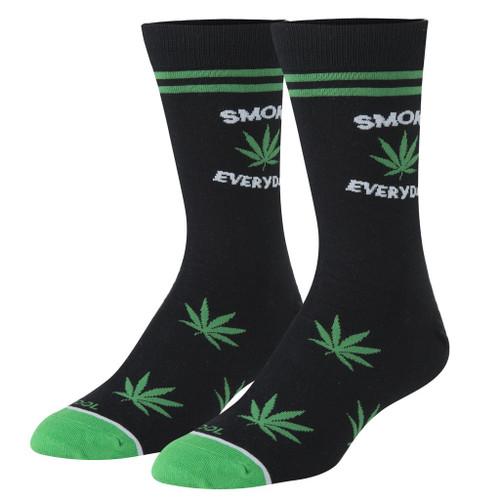 Smoke Everyday Crew Socks