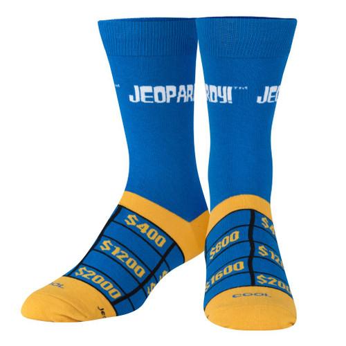 Jeopardy TV Show Crew Socks