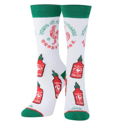 Sriracha All Over Women's Crew Socks