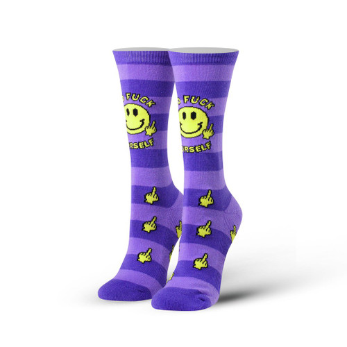 Women's Go F Yourself Crew Socks