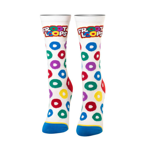 Women's Froot Loops Straight Crew Socks