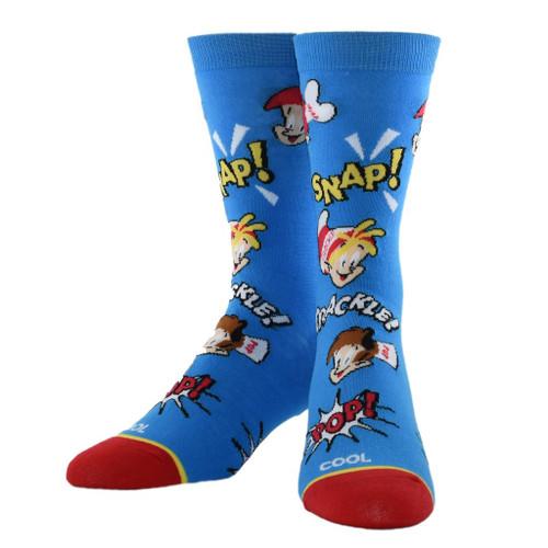 Women's Snap, Crackle, Pop Crew Socks