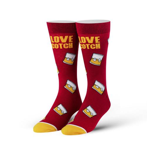 I Love Scotch Crew Socks