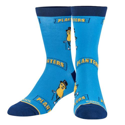 Mr Peanut Crew Socks