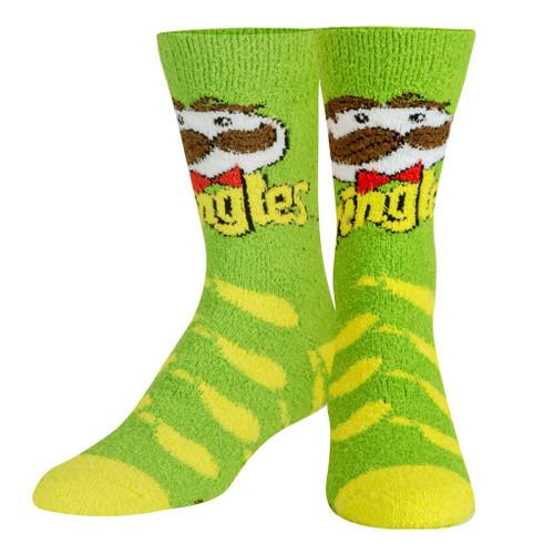 Pringles Sour Cream Fuzzy Socks