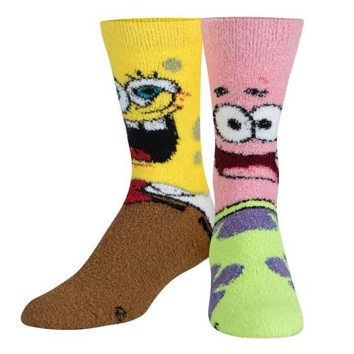 Bikini Bottom Boys Fuzzy Socks