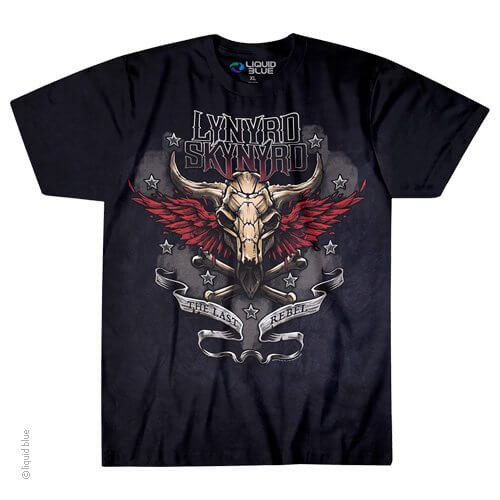 Lynyrd Skynyrd Last Rebel T-shirt