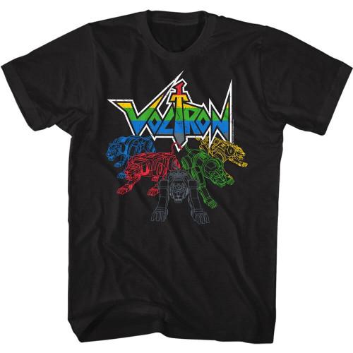 Voltron Cats + Logo T-Shirt
