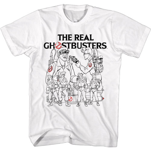 Ghostbusters Line Art T-Shirt