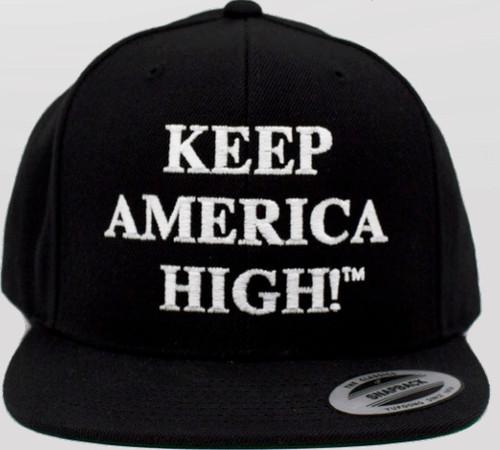 Keep America High Black Hat