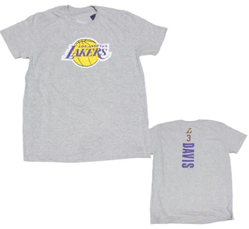 LA Lakers Anthony Davis F/B Design T-Shirt