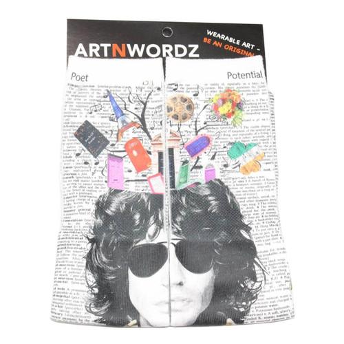 ArtnWordz Opening Doors - Jim Morrison Crew Socks