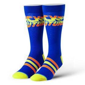 Back To The Future Stripes Crew Socks