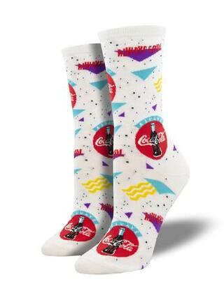 Women's 90's Coca-Cola Socks