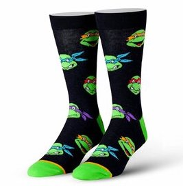 Retro Turtle Heads Socks