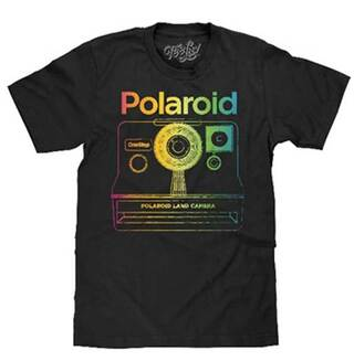 Polaroid Vintage Camera T-Shirt