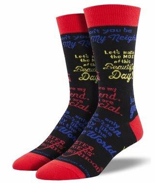 Men's Mister Rogers Quotes Socks