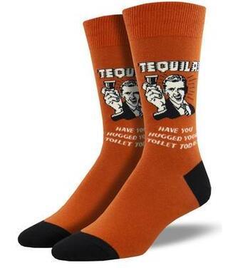 Men's That's The Spirit Tequila Socks
