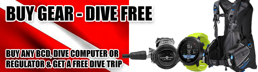 Free Dive Trips With Purchase