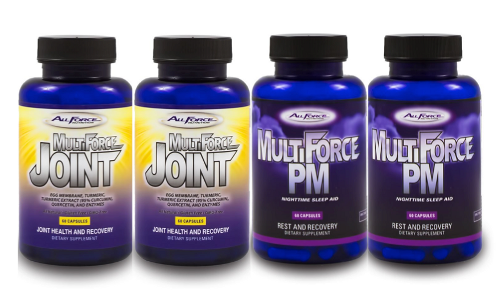 FREE SHIPPING on 2 month supply of each - Multi-Force Joint & PM (SET OF 2 ea.)
