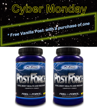 FREE Vanilla Post Workout with Purchase of 1