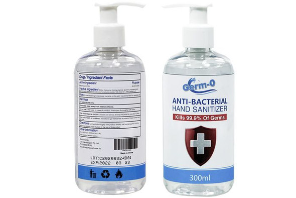 Germ-0 Antibacterial Hand Sanitizer 300ml