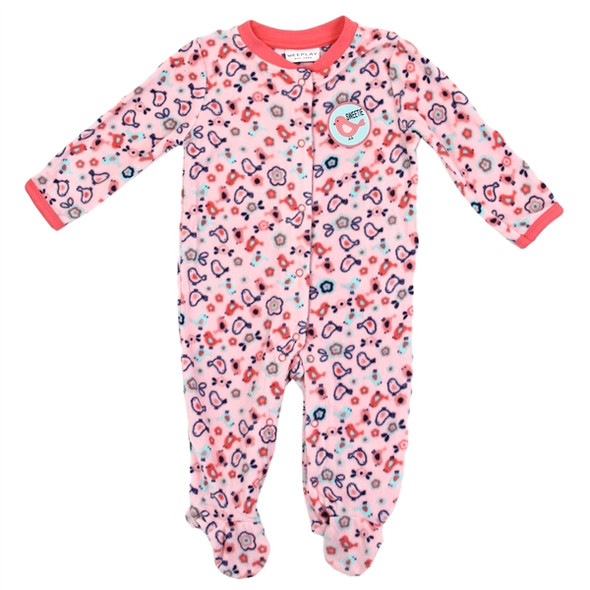 Baby Girls New Born Bird Soft Plush Grow Suit