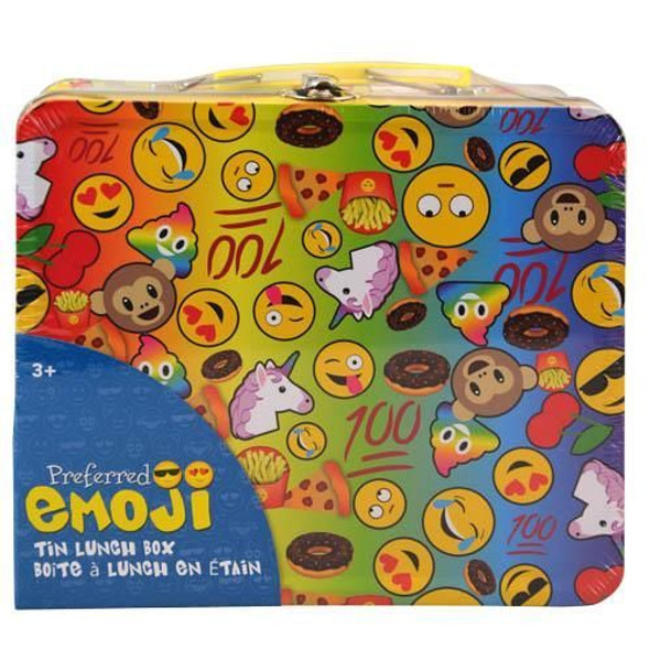Emoji Tin Lunch Box