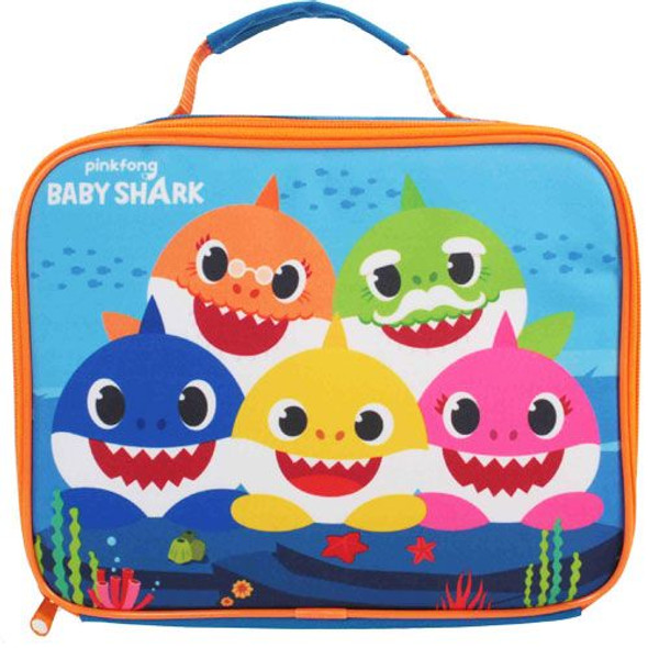Pinkfong Baby Shark Insulated Blue Lunch Bag Box