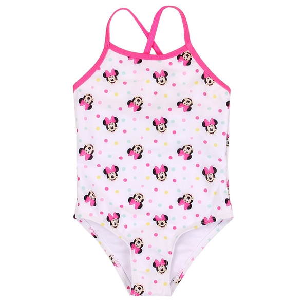 Infant Girls Minnie Mouse Swimsuit
