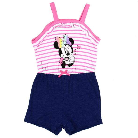 Girls Minnie Mouse Simmer Romper