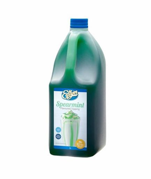 Edlyn Spearmint Flavoured Topping 3l