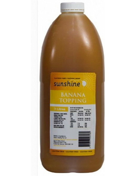 Sunshine Banana Topping 3l