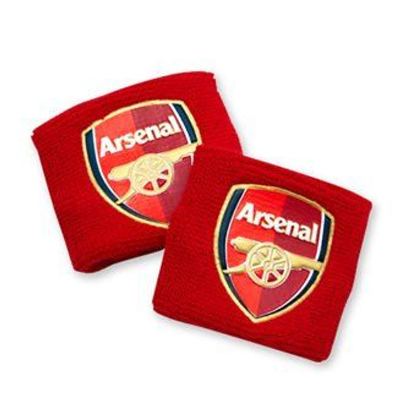 Arsenal FC Wristbands 2 Pack