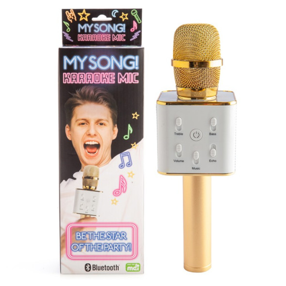 My Song! Karaoke Mic Gold