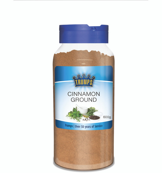 Trumps Ground Cinnamon Canister 600gm