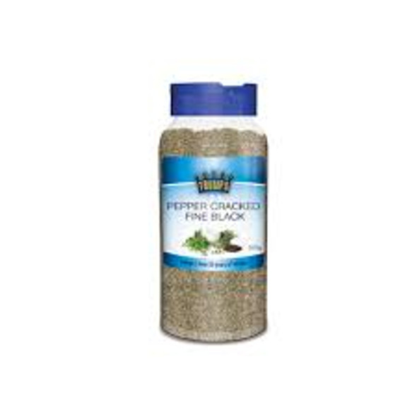Trumps Fine Black Cracked Pepper 500gm