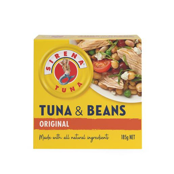 Sirena Tuna With Beans Boxed With Spork 185gm