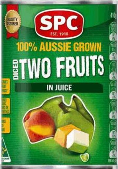 SPC Two Fruits Diced in Juice 410g