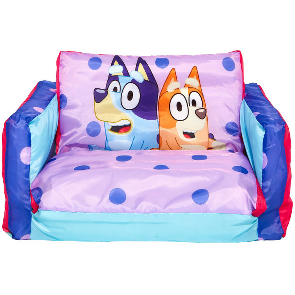 Bluey Inflatable Flip Out Mini Sofa