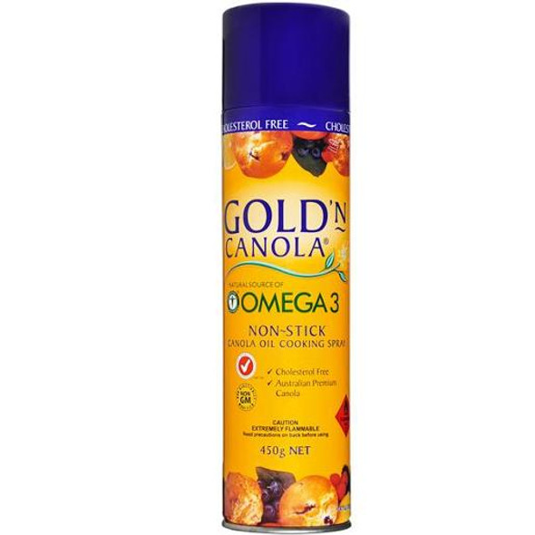 Gold'N Canola Cooking Spray 450gm