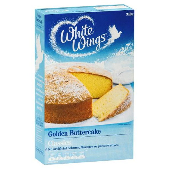 White Wings Classics Golden Butter cake Mix 340gm