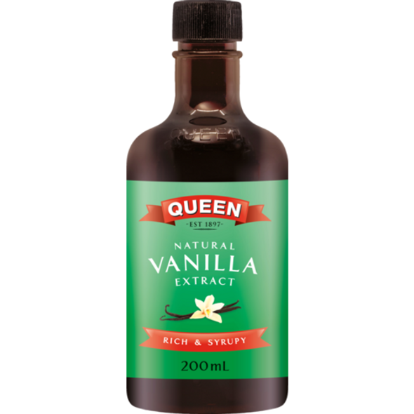 Queen Natural Vanilla Extract 200ml