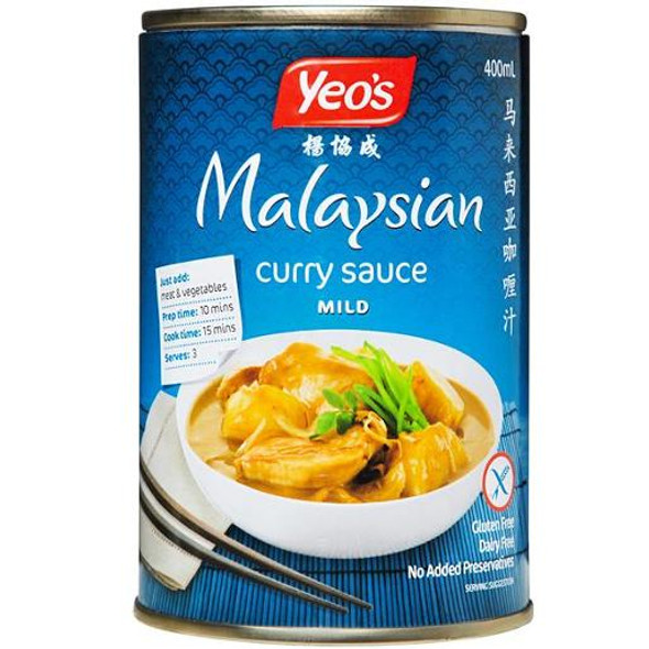 Yeo's Malaysian Curry Sauce Canned Mild 400ml