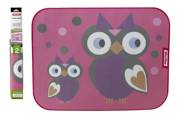 Car Cling Shade - Owl 2 Pack