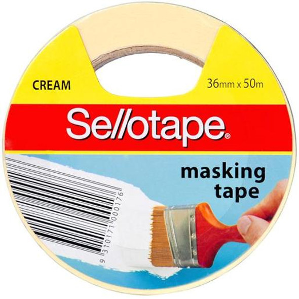 Sellotape Masking Tape 36mm x 50m