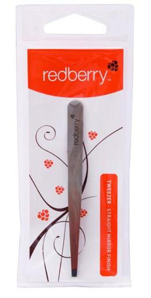 Redberry Straight Tweezer 1pk